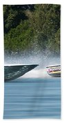 2017 Taree Race Boats 08 Beach Towel