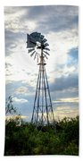 2017_08_midland Tx_windmill 2 Beach Towel