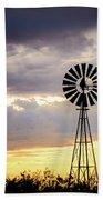 2017_09_midland Tx_windmill 3 Beach Towel
