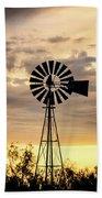2017_09_midland Tx_windmill 6 Beach Towel