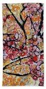 201727 Cherry Blossoms Beach Towel
