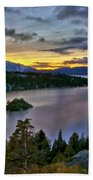P W Landscape Beach Towel