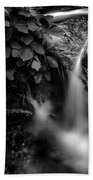 Broad River Flowing Through Wooded Forest Beach Towel