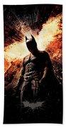 The Dark Knight Rises 2012  Beach Sheet