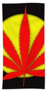 Cannabis 420 Collection Beach Towel