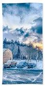 Beautiful Nature And Scenery Around Snowshoe Ski Resort In Cass  Beach Towel