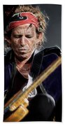 Keith Richards Collection Beach Towel
