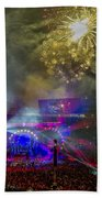 The Grateful Dead At Soldier Field Fare Thee Well Beach Towel