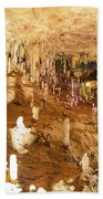 Onondaga Cave Formations Beach Towel