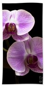 Orchids Kauai Beach Towel