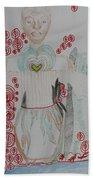 St Michael The Archangel Beach Towel