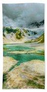 Landscape Light Beach Towel