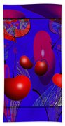 2613 Cherry Fractal 2018 Beach Towel