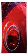 2665- Red Volkswagen  Beach Towel