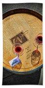 2698- Mauritson Wines Beach Towel