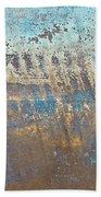 Metal Background Beach Towel