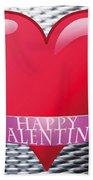 Valentines Beach Towel