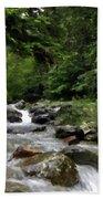 Landscapes Oil Painting Beach Towel