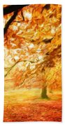 Landscape Nature Beach Towel