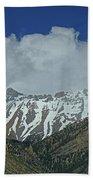 2d07509 High Peaks In Lost River Range Beach Towel