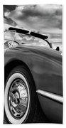 1959 Chevrolet Corvette Beach Towel