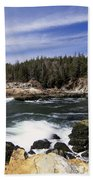 Acadia National Park - Maine Usa Beach Towel