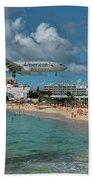 American Airlines At St. Maarten Beach Towel