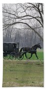 Amish Buggy Beach Towel