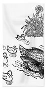Andersen: Ugly Duckling Beach Towel