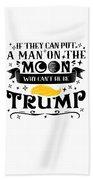 Anti Trump Impeach The President Vote For Dems Light Beach Towel