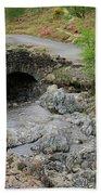 Ashness Stone Packhorse Bridge, Lake District National Park Beach Towel