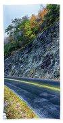Autumn Colors In The Blue Ridge Mountains Beach Towel