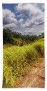 Bali Landscape Beach Towel