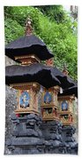 3 Bali Shrines Beach Sheet