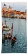 Basilica Di Santa Maria Della Salute, Venice, Italy Beach Towel