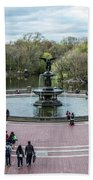 Bethesda Fountain Beach Towel