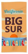Big Sur Beach Towel