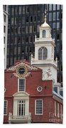 Boston Old State House Beach Towel