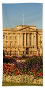 Buckingham Palace, London, Uk. Beach Towel