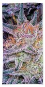 Cannabis Macro Beach Towel