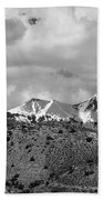 Canyon Badlands And Colorado Rockies Lanadscape Beach Towel