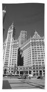 Chicago Skyscrapers Beach Towel