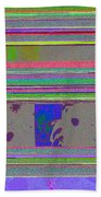 Christmas Holiday Tree Beach Towel