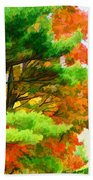 3 Colors Of The Nature 1 Beach Towel
