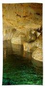 Crystal Cave In Hamilton Parish Bermuda Beach Towel