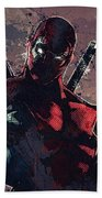 Deadpool Beach Towel