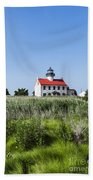 East Point Lighthouse Beach Towel