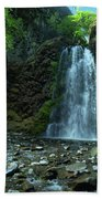 Fall Creek Falls Beach Towel