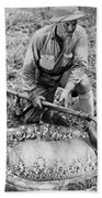 Frank Buck (1884-1950) Beach Towel
