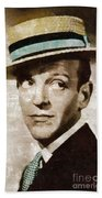 Fred Astaire Hollywood Legend Beach Towel